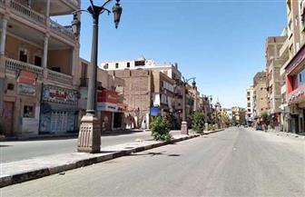 شوارع الأقصر خالية.. وإغلاق الطرق لمنع زيارة المقابر| صور