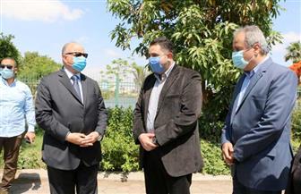 محافظ القاهرة يتأكد من خلو الكورنيش.. ويشدد على الإجراءات الاحترازية عند زيارة المقابر| صور