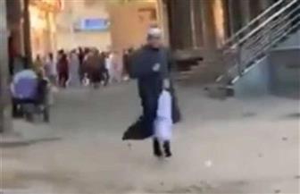 """ضبط بطل فيديو """"اجري يا شيخ"""" الذي حاول الهروب من الشرطة لإقامة صلاة العيد"""