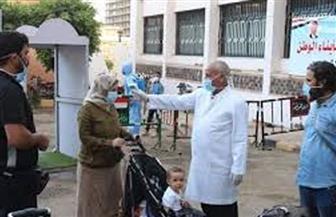 ٨٠٠ مصري من الخارج يغادرون الحجر الصحي  بالمدينة الجامعية طالبات بجامعة عين شمس