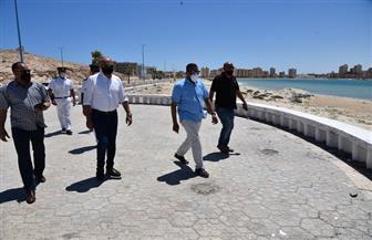 تطوير شواطئ مطروح.. والانتهاء منها قبل نهاية الشهر الحالي | صور