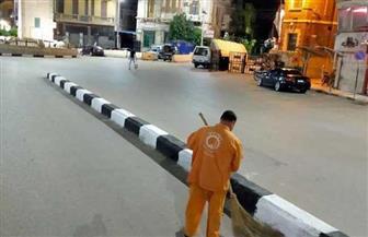 محافظ الغربية: رفع 2500 طن قمامة بطنطا خلال العيد