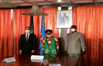 سفير مصر في كينشاسا يشارك في الاحتفال بيوم إفريقيا