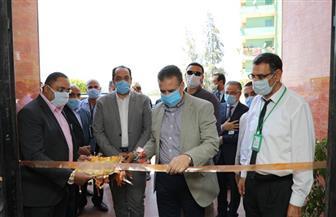 لمواجهة كورونا.. محافظ المنوفية يفتتح مستشفى الشروق بقويسنا بسعة 40 سريرا | صور