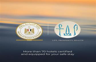 بعد حصولهم على شهادة السلامة الصحية.. 70 فندقا يستقبلون نزلائهم في 5 محافظات