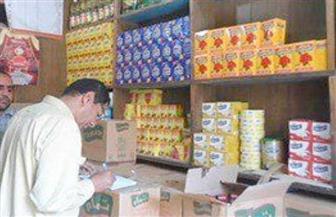 تحرير 37 مخالفة تموينية لمحال تجارية بدون ترخيص بمركز أبوقرقاص