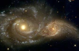 تصادم بين مجرتين ربما يكون وراء تسريع تكون النظام الشمسي