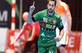 محمد سند: تتويجي بجائزة أفضل جناح أيمن بالدوري الفرنسي لكرة اليد شرف كبير