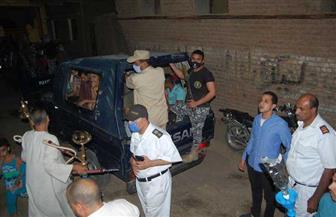 محافظ سوهاج يشدد على الالتزام بالحظر.. وغلق 3 مقاه مخالفة | صور