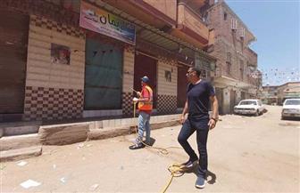 استمرار التطهير والتعقيم وفض الأسواق الأسبوعية بمراكز كفر الشيخ | صور