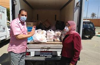 تضامن بورسعيد: تقديم 3 وجبات يوميا للعائدين المقيمين بالمدينة الشبابية   صور
