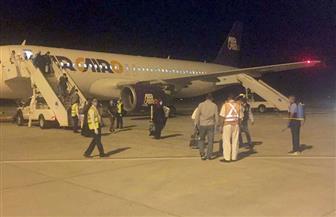 وصول 153 من المصريين العالقين في سلطنة عمان إلى مطار مرسى علم | صور