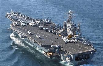 أول تعليق من البحرية الأمريكية على إعادة حاملة طائراتها إلى الخليج