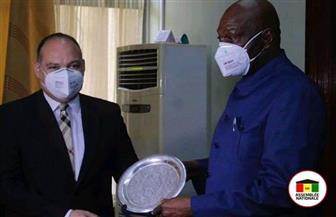 السفير المصري في كوناكري يلتقي رئيس البرلمان الغيني الجديد|صور