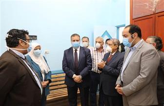 محافظ المنوفية  يتفقد التجهيزات النهائية بمؤسسة العربى لتنمية المجتمع بأبو رقبة بسعة 100 سرير | صور