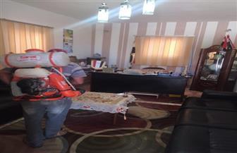 مطروح: تطهير وتعقيم السيارات العائدة من إجازة عيد الفطر بالتمركزات الأمنية الثابتة| صور