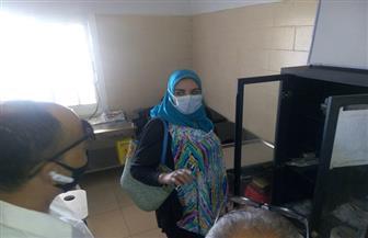 مدير الرعاية تتابع سير العمل بالنقطة الطبية بكمين عيون موسي  بجنوب سيناء | صور