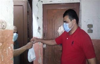 توزيع الأدوية على مصابي كورونا بالمنازل في الدقهلية |صور