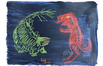 التشكيلية لينا أسامة: إتاحة «ديناصورات منزلية» أون لاين ضرورة حتمية في زمن «كورونا» | صور