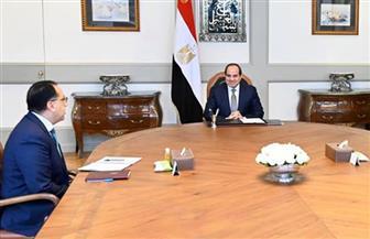 ننشر تفاصيل اجتماع الرئيس السيسي مع رئيس الوزراء ومستشار التخطيط العمراني