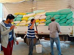 ارتفاع الكميات الموردة من القمح في سادس أيام التوريد بشون ومطاحن وصوامع كفرالشيخ