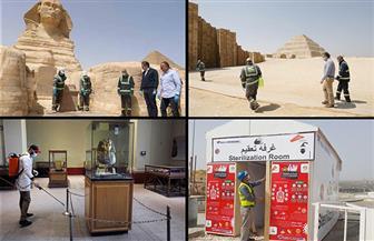 بين التطهير والتعقيم.. كيف واجهت آثار مصر القديمة فيروس كورونا المستجد؟  صور