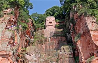 العثور على نحت حجري كبير صنع عام 1087م شرقي الصين
