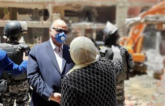 محافظة القاهرة تزيل 20 عقارا خلف المحكمة الدستورية