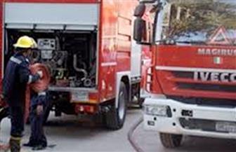 تفحم قطع غيار سيارات.. مصدر أمني يوضح خسائر حريق الحرفيين
