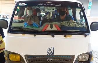 التزام ملحوظ على ارتداء الكمامات من الركاب والسائقين بالمواقف