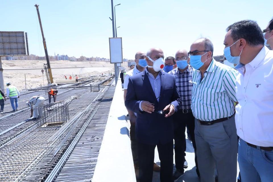 جولة الفريق مهندس كامل الوزير - وزير النقل