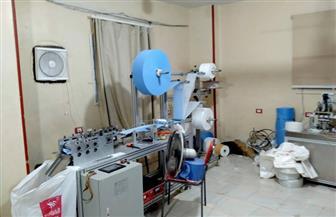 تشميع مصنع لإنتاج الكمامات غير المطابقة للمواصفات بالشرقية | صور