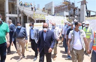 النقل: انتهاء 29% من مشروع القطار المكهرب (السلام - العاشر من رمضان).. ومحطة للمدينة الرياضية العالمية