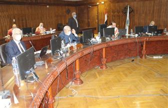 """رئيس جامعة طنطا يترأس اجتماع مجلس الجامعة عبر """"الفيديو كونفرانس"""""""