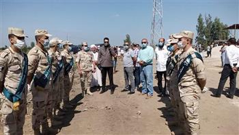 الدقهلية تشيع الشهيد المجند أحمد أسامة ابن قرية المركزية | صور