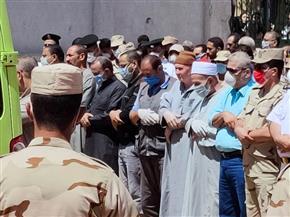 المنوفية تودع الشهيد محمد عبدالحميد في مسقط رأسه بقرية كفر قورص بأشمون | صور