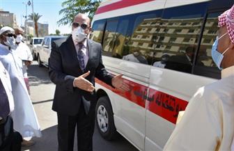 "محافظ أسوان يخصص أرقام ""واتساب"" لتلقي طلبات دفن ضحايا ""كورونا""| صور"