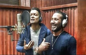 """تأجيل طرح أغنية """"100 حساب"""" لـ أحمد سعد وحسن شاكوش"""""""