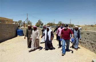 محافظ شمال سيناء: بناء 150 منزلا ورفع كفاءة آبار المياه بمدينة الحسنة وسط سيناء| صور