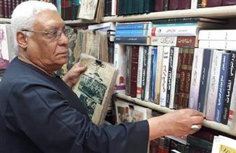الموت يغيب «عم حربي» أشهر بائع كتب مستعملة في سور الأزبكية