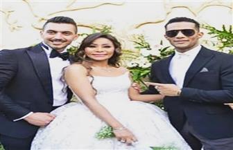 سيلفي وتجمعات وقبلات.. شاهد حفل زفاف شقيقة محمد رمضان | فيديو