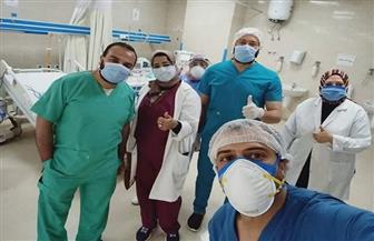 3 مصابين بكورونا يخضعون للغسيل الكلوي داخل مستشفى العزل جنوب الأقصر |صور