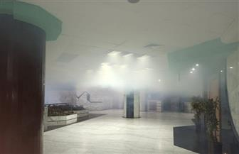 «الصحفيين» تستعين بوحدة تعقيم ذكية وتستخدم نظام التبخير لتطهير المبنى | صور