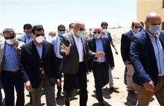 وزير الشباب والرياضة يتفقد أرض المدينة الرياضية شرق بورسعيد | صور