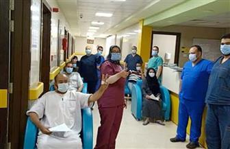 خروج 17 حالة من مستشفى العزل بإسنا في الأقصر بعد تعافيهم من كورونا | صور