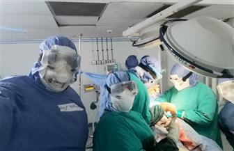 ثاني ولادة قيصرية بمستشفى العزل الصحي بكفر الزيات   صور