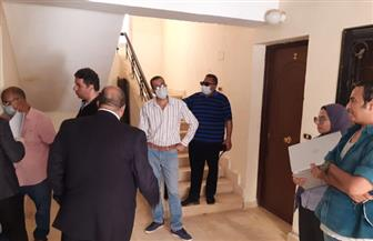 تحرير 35 محضرا نتيجة مخالفة المستفيدين بوحدات الإسكان الاجتماعى | صور