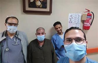 خروج 10 حالات من مستشفى العزل بإسنا جنوب الأقصر بعد تعافيهم من كورونا | صور