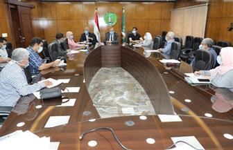 محافظ المنوفية يستقبل وفد مجلس الوزراء لمتابعة نسب تنفيذ المشروعات القومية