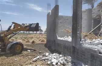 «حي ضواحي بورسعيد» تزيل 5 منازل عشوائية و3 مخازن معدة للتهريب
